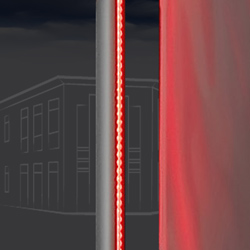 fahnen lichtmast led rgb line a. Black Bedroom Furniture Sets. Home Design Ideas